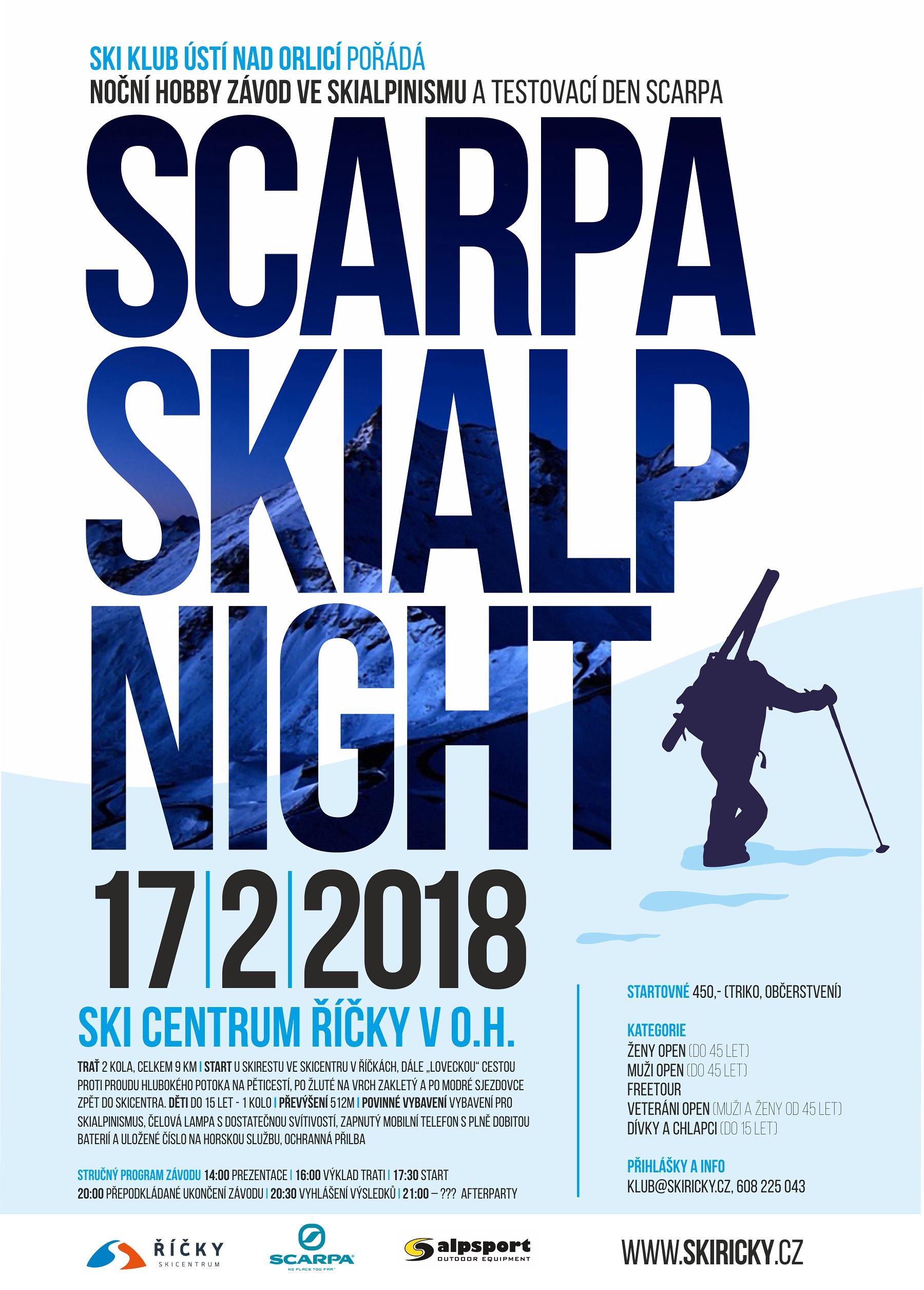 Scarpa Skialp Night